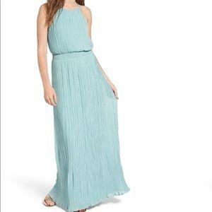 Astr The Label High Neck Maxi Dress